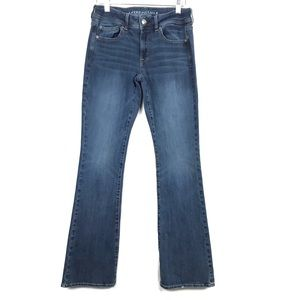 American Eagle Kick Boot Stretch Jeans 6 Long Tall